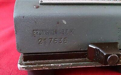 Calculadora Brunsviga 13 ZK ( modelo Azul) 8