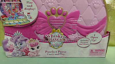 c16fa3983dd ... Disney Princess Whisker Haven Palace Pets Carry   Play Pawfect Purse Toy  Set New 8