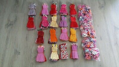Doll Accessories Clothes Shoes Necklace Glasses For Barbie Doll Gift 40 Item/Set 2