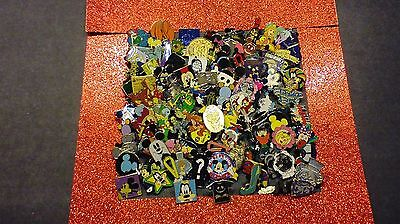 Disney Pins 50 Different Pins  Fast Usa Seller Mixed Lot Of Pins Cast Hm Rack