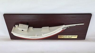Workboat Chesapeake Bay Draketail Medium Half Hull Boat Model