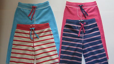 EX- Mini Boden girls sweat shorts cropped trousers 4 colours  bnwot ages 1-14 5