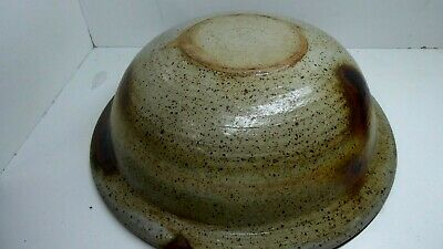 Huge Harry Memmott Studio Vintage Australian Pottery Bowl 6
