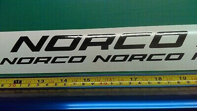 Pick Your Color Custom Norco Bike Frame Decal Set USA Seller!