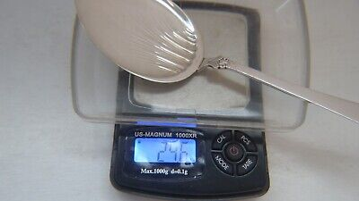 Anitra Solid small Pastry Spoon by Magnus Aase 830 Silver Norway 7