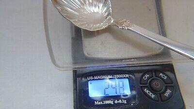 Anitra Solid Sugar Spoon by Magnus Aase 830 Silver Norway 8