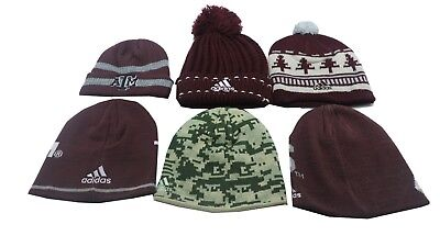 c87bf96f782 ... Texas A M Aggies NCAA Adidas Kids Youth Size Multiple Styles Beanie Hat  Pom 2