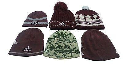 separation shoes 51da4 3cc9a ... Texas A M Aggies NCAA Adidas Kids Youth Size Multiple Styles Beanie Hat  Pom 2