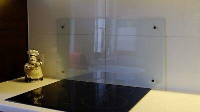 SPRITZSCHUTZ GLAS ESG 6mm, nach maß Küchen Wandschutz, Küchenrückwand,