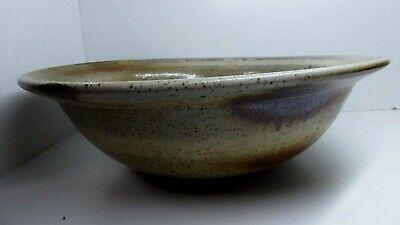 Huge Harry Memmott Studio Vintage Australian Pottery Bowl 2