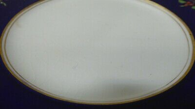 Antique Wedgwood Majolica Pottery Dinner Plates Cobalt Blue Fruit Decorated 4