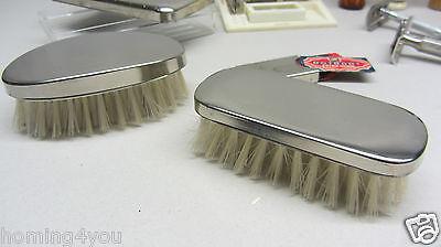 Vintage Rasier Zubehör Barbier Gillette made in USA , Wilkinson, Rotbart Pinsel 2