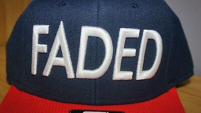 9a2629f3 ... Snapback Cap Starter Black Label Faded Baseball Cap Navy and Red 3