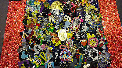 Disney Pins 40 Different Pins Fastest Shipper In Usa Cl, Le, Hm & Cast Pins