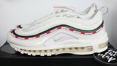 7225c7f7c7 ... Nike x Undefeated Air Max 97 OG White Cream Red UNDFTD UK 8.5 US 9.5 EUR