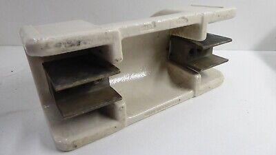 Large Antique Porcelain Electric Insulator Industrial Fuse 500V 3