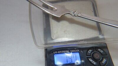 Anitra Solid Pickle Fork by Magnus Aase 830 Silver Norway 7
