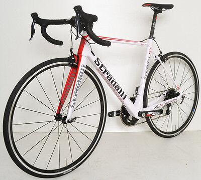 db01c470bb9 ... 11Only 1 available 54 M MEDIUM STRADALLI R7 CARBON ROAD BICYCLE BIKE  SHIMANO Di2 WHITE FSA 2
