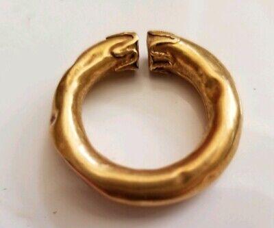 Ancient Celtic Ring Money. Gold 800-400BC 4