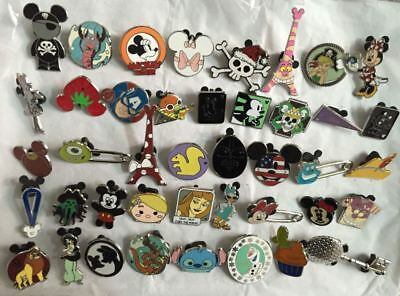 Disneyland Pins Collections Trading Lots of 30 Walt Disney Hidden Mickey limited 2
