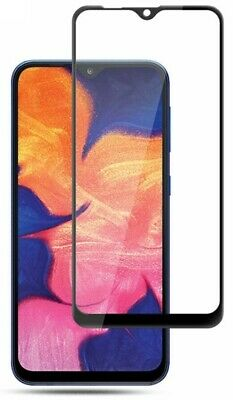 For Samsung Galaxy A10 (2019) 3D Tempered Glass LCD Screen Protector Black 2