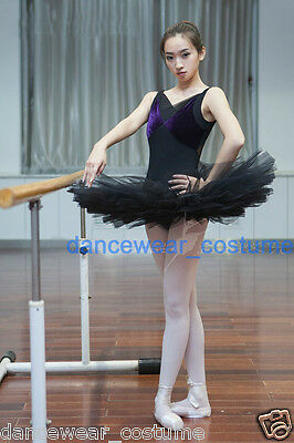 d5fd8282b ... Ladies Professional Ballet Costume Tutu 5Layers Hard Organdy Platter  Skirt 3Size 2