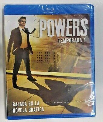Pelicula Bluray Serie Tv Powers Temporada 1 Precintada 2