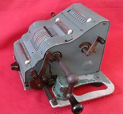 Calculadora Brunsviga 13 ZK ( modelo Azul) 3