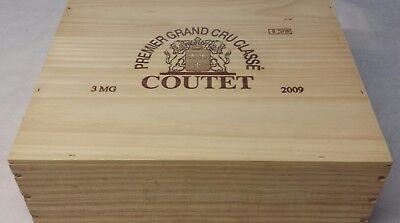 """CHÂTEAU """"COUTET"""" 2009 (3 MAGNUMS).95/100 PARKER.(Sauternes). 3"""