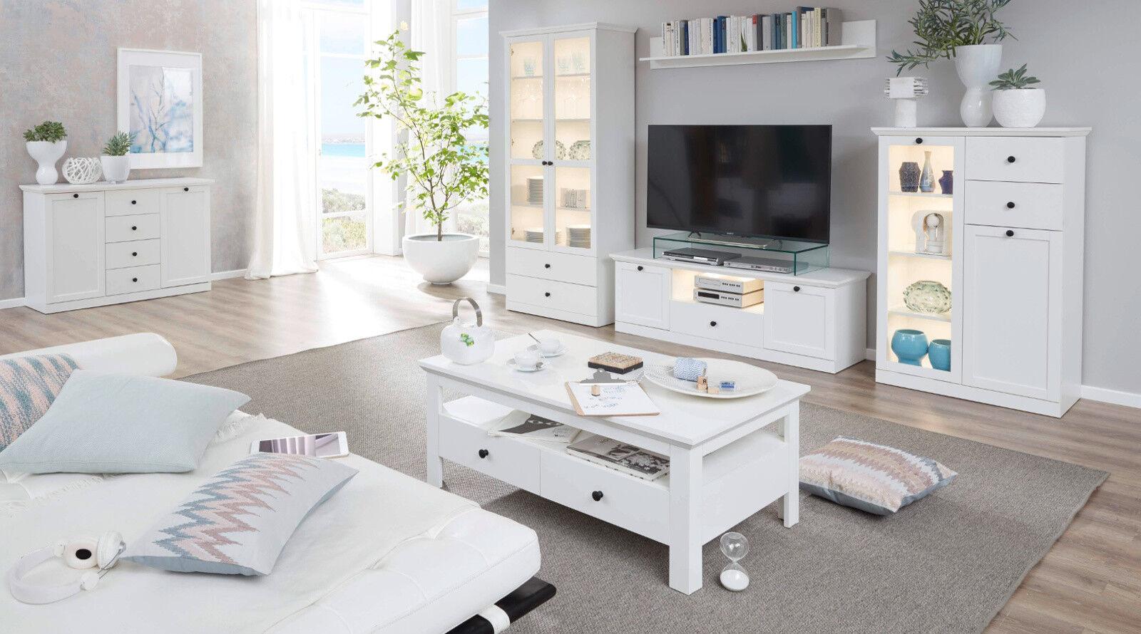 Wohnzimmer Landhausstil Weiß