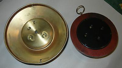 Vintage Antique Clock and Barometer Lot Heavy and Very Old Please see Pictures 2