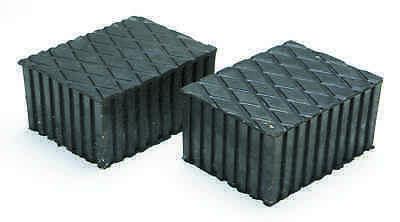 Gummiauflage Gummiblock Hebebühne120mm x 160mm x 80mm