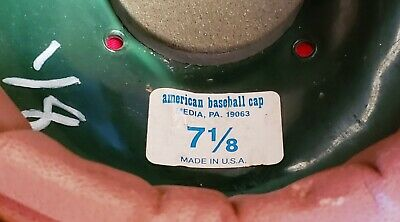 BUFFALO BISONS (Cleveland Indians) 1980's-1990's Game Used Batting Helmet by ABC 11