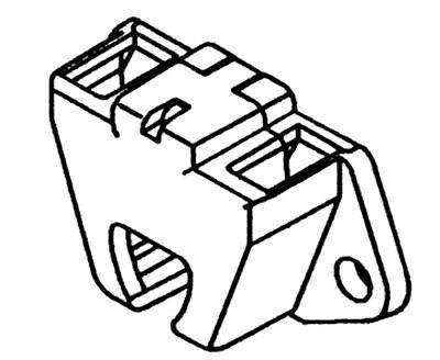 100 Twist Lock Fluorescent T5 Tube Bulb Socket Lampholder W