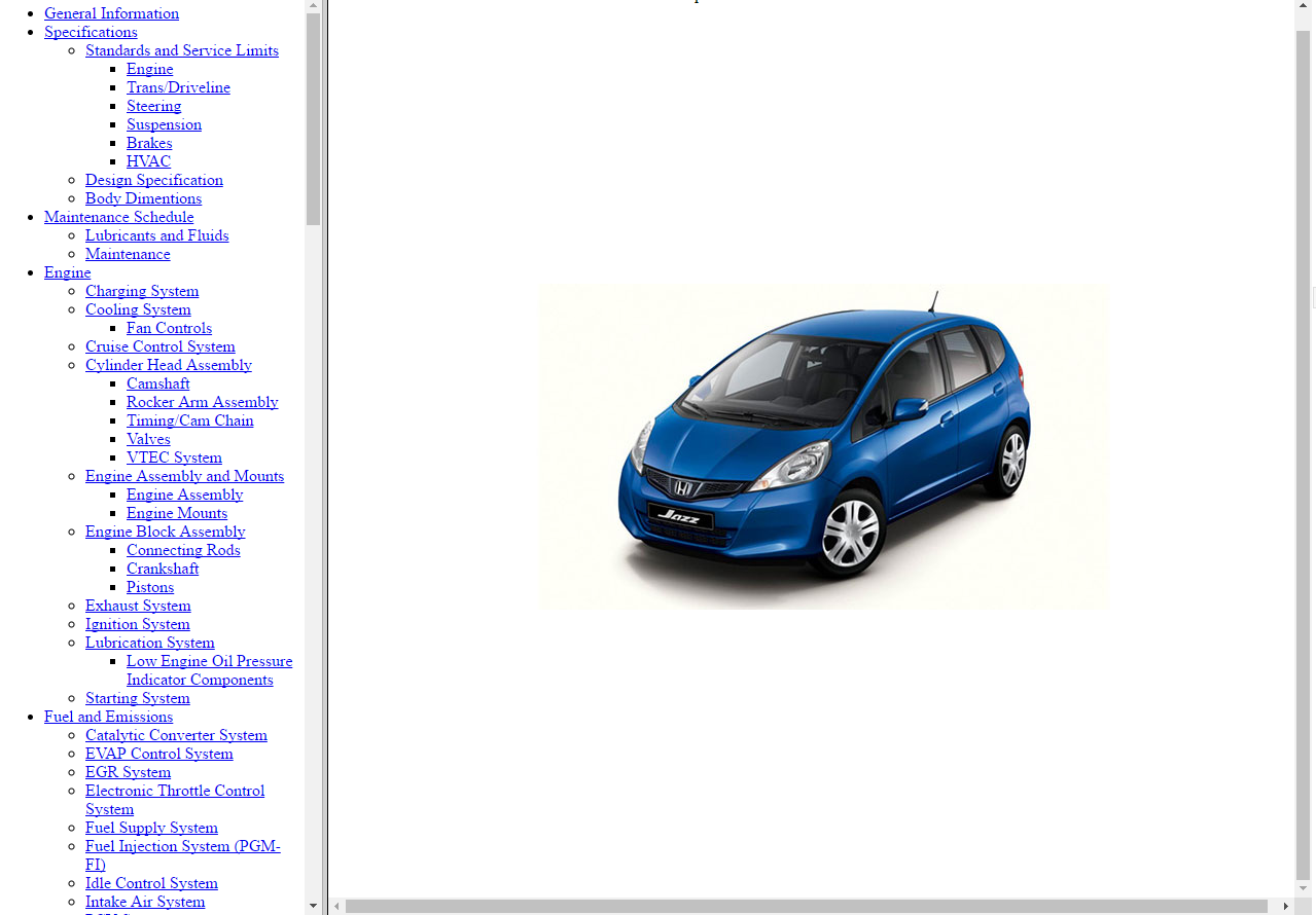 1 of 6FREE Shipping *WORKSHOP MANUAL SERVICE & REPAIR GUIDE for HONDA JAZZ  2007-2014 +WIRING