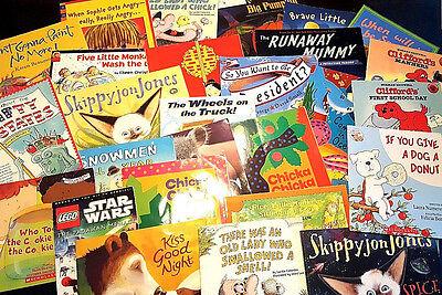 Childrens Book Lot Medium Large Kid S Books 5 Mixed Scholastic