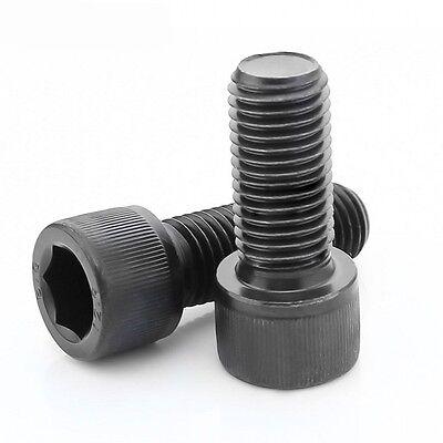 10#-24 Unc Hex Socket Cap Screw Allen Bolts Shcs Coares Thread High Tensile 12.9 3