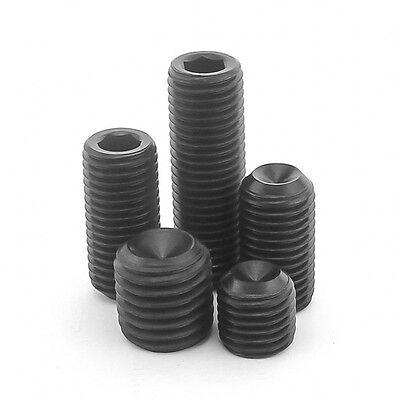 M3 / 3Mm High Tensile 12.9 Socket Set Screws Cup Point Grub Screws Allen Socket 2