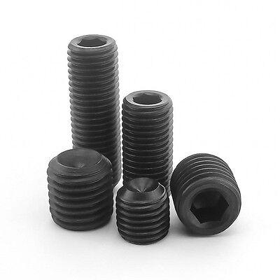 M3 / 3Mm High Tensile 12.9 Socket Set Screws Cup Point Grub Screws Allen Socket 3