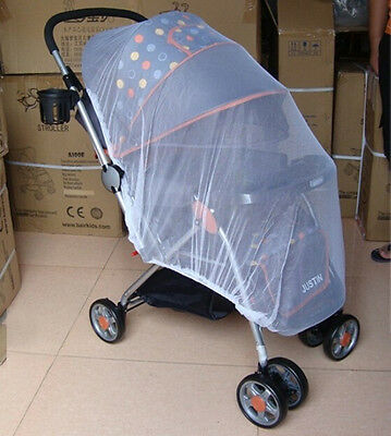 Universal Pram Mosquito Net Buggy Stroller Pushchair Bug Insect Car Seat Me-SL 2