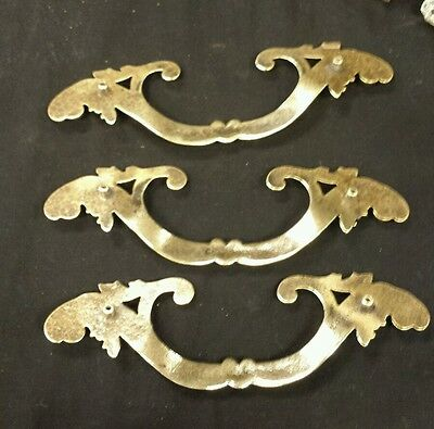 Vintage Victorian  decorative brass Drawer handle pulls (up to 3 available) 3