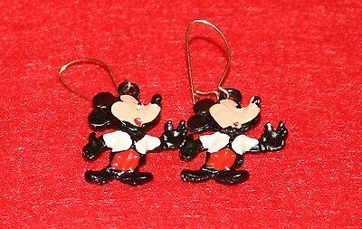 Vintage Mickey Mouse Dangle Earrings