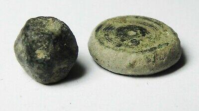 Zurqieh - As14030-  Ancient Holy Land. Byzantine Bronze Weights. 800 - 1000 A.d 3
