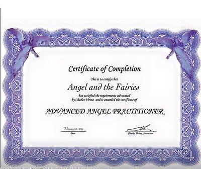 Code 471  LIVE LAUGH LOVE Rose Quartz Carved Angel Infused Necklace Archangel
