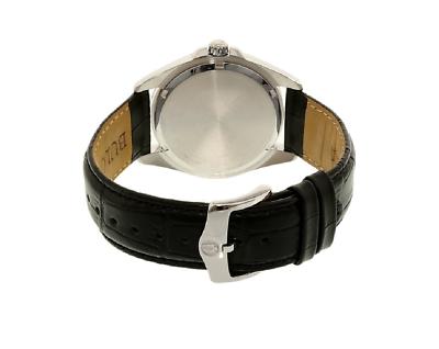 Bulova Precisionist Men's Quartz UHF Blue Dial Black Leather 43mm Watch 96B257 3