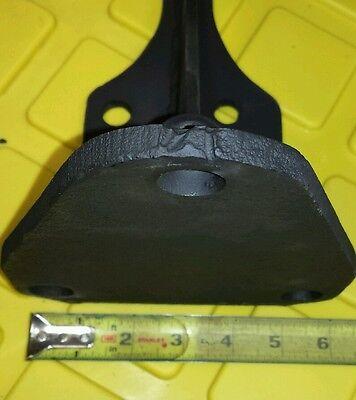 2 Shelf Brackets old vintage heavy duty steel mantelcounter support 6