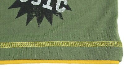 ST EVE Boys PYJAMAS Long Sleeve Top Fleece Bottoms GREEN BLACK Motorbike 5-6 Yrs 6