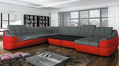 Couchgarnitur Infinity Xl U Sofa Mit Schlaffunktion Couch