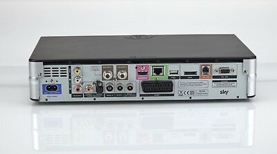 Sky + Plus Hd Box 500Gb Slim Line Receiver/Recorder With Remote And Power Cable! 9