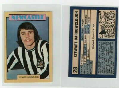 Red Back A/&BC # 49 Terry Hibbitt Newcastle Footballers 1974